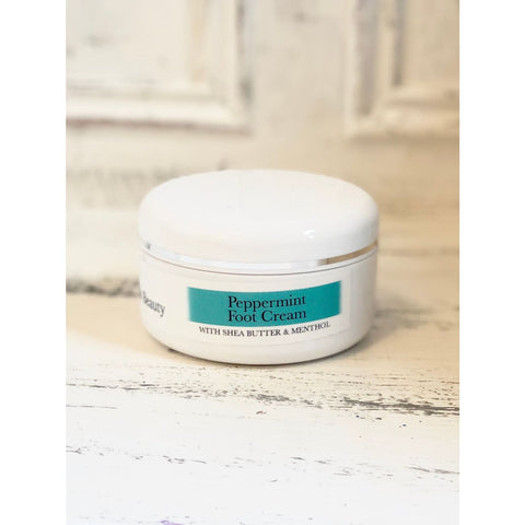 Organic Cooling Peppermint Foot Cream - Foot Cream