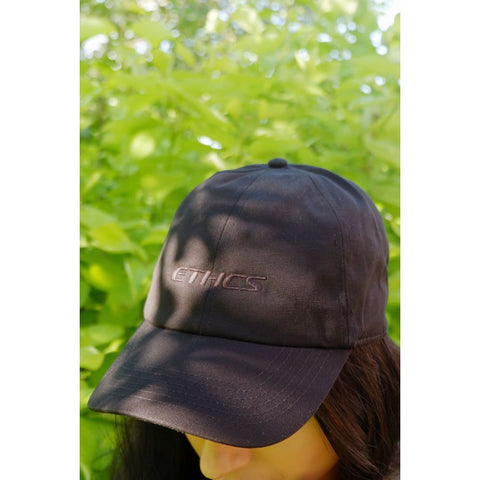 Organic Cotton Cap - Black - Baseball Cap