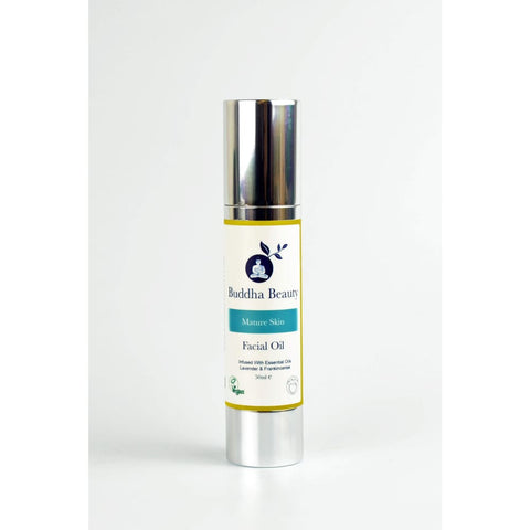Organic Facial Oil - Mature Skin Types - 50 ml - Facial Oils