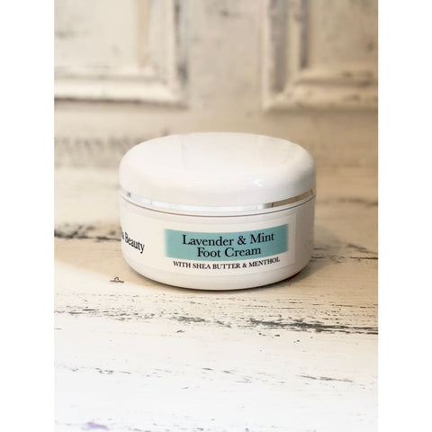 Organic Lavender & Mint Foot Cream - Foot Cream
