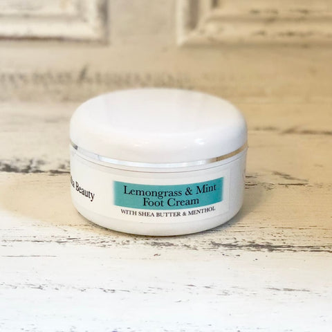 Organic Lemongrass & Mint Foot Cream - AWARD WINNING - Foot Cream