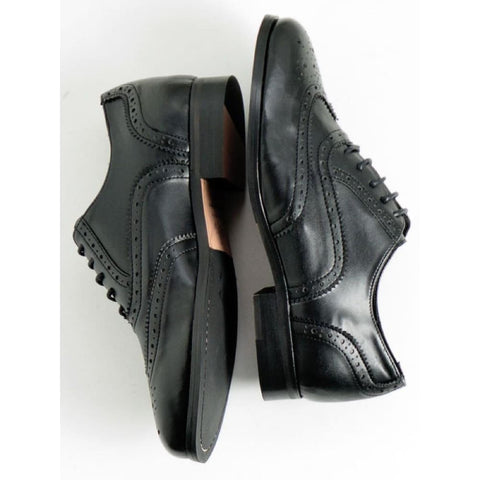 Oxford Brogues - Black - Shoes
