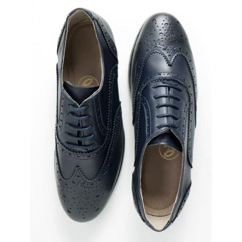 Oxford Brogues - Blue - Shoes