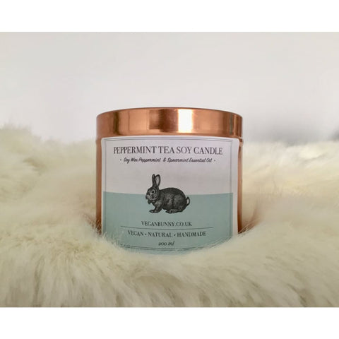 Peppermint Tea Soy Candle - Soy Candle
