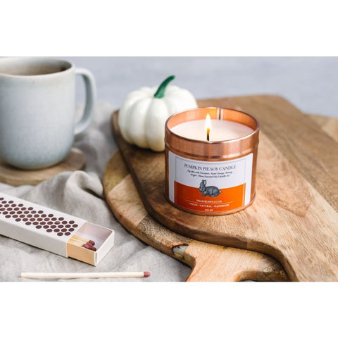 Pumpkin Pie Soy Candle - Soy Candle