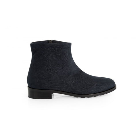 Rebecca - vegan ankle boot - blue - Boots
