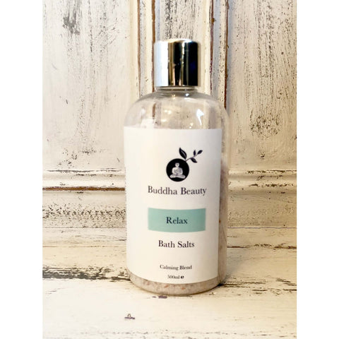 Relax Organic Bath Salts - 500 Ml - Bath Salt