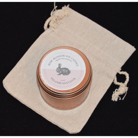 Rose Blossom Soy Candle - 100ml - Soy Candle