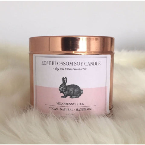 Rose Blossom Soy Candle - 200 ml - Soy Candle