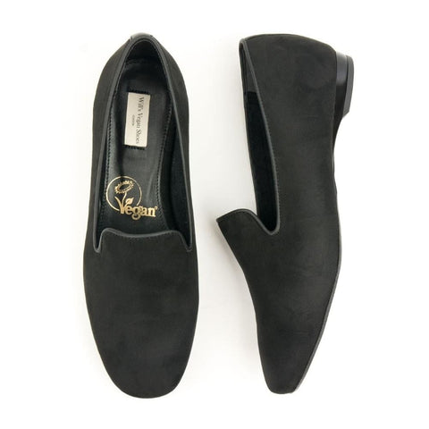Slip-On Loafers - Black - Shoes