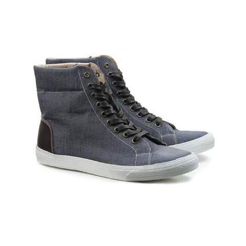 Sneaker Boots - Blue Denim - Shoes