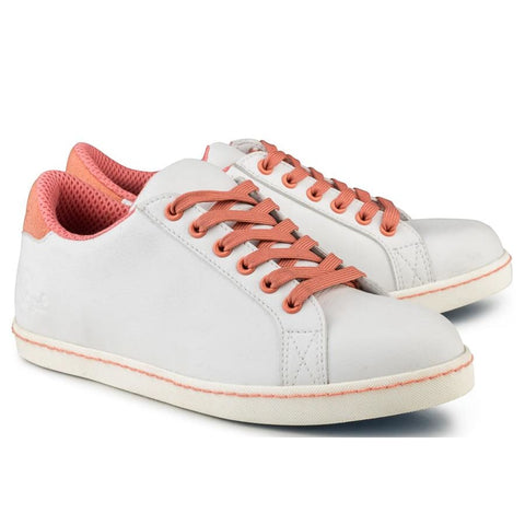 Soft Sneaker White/coral - Sneakers