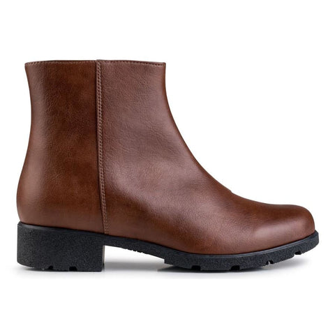 Sophia Ankle Boot Brown - Boots