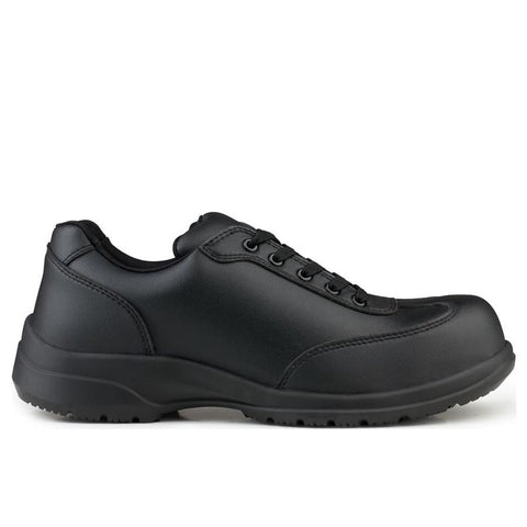 Speed Safety Microfibre S1-Src Black - Shoes