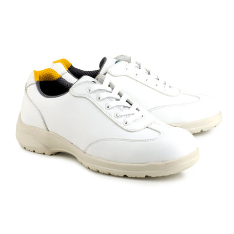 Speed Safety Microfibre S1-Src White - Shoes