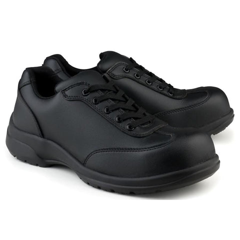 Speed Safety Microfibre S3-Src Safety Shoe Black - Shoes