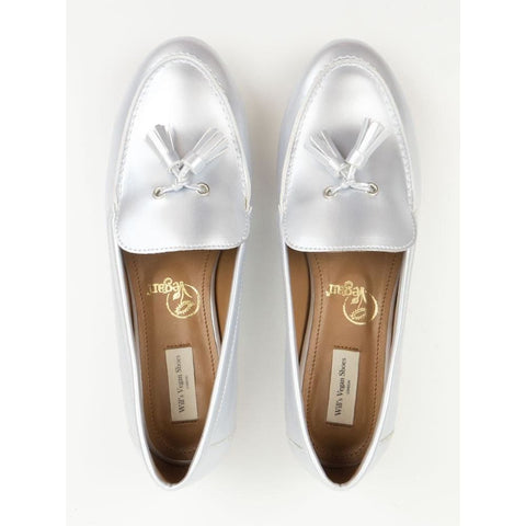 Tassel Loafers - Silver - Shoes