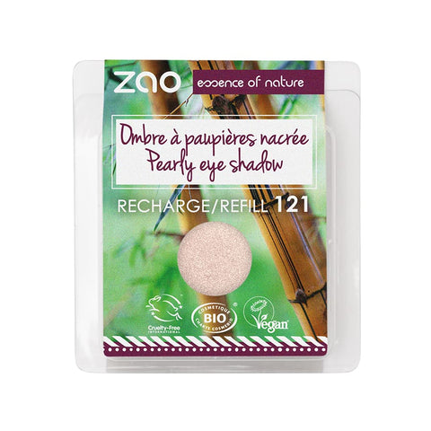 Tropical Paradise Collection Eyeshadow Refills - 121 Pearly Ivory - Makeup