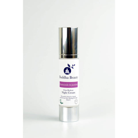 Ultra Hydrate- Organic Jasmine & Chamomile Night Cream - 50 Ml - Face Creams