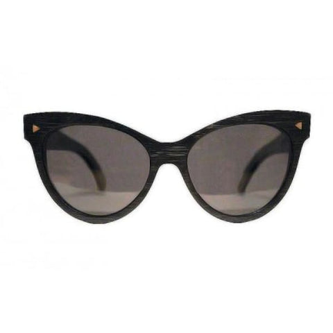Valencia - Black Bamboo Sunglasses - Sunglasses