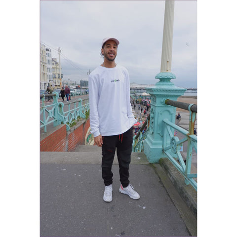 VGANG WHITE LONG SLEEVE TEE - Tee