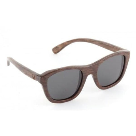 Victoria - Brown Bamboo Sunglasses - Sunglasses