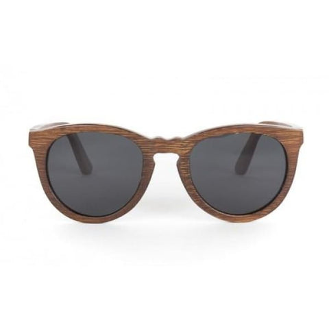 Wesli - Brown Bamboo Sunglasses - Sunglasses