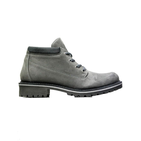 Womens Ankle Dock Boots - Grey - Boots