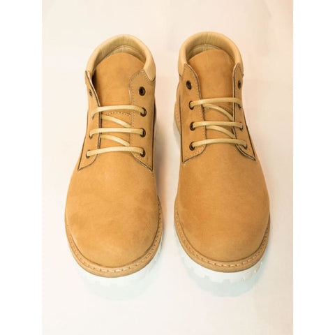 Womens Ankle Dock Boots - Tan - Shoes