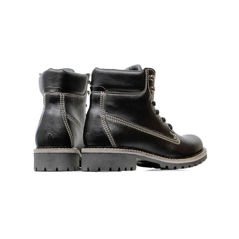 Womens Dock Boots - Black - Shoes