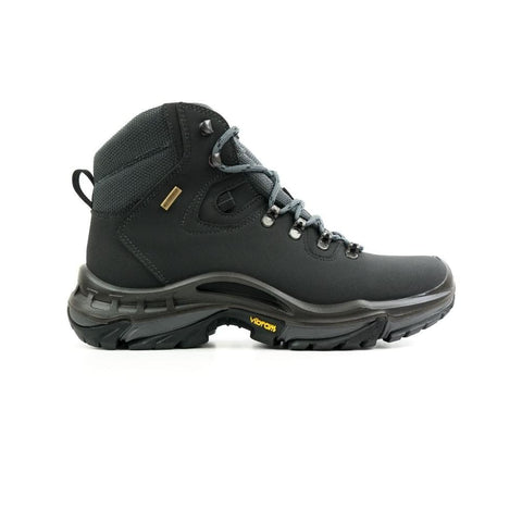 Womens Waterproof Hiking Boots - Black - Boots