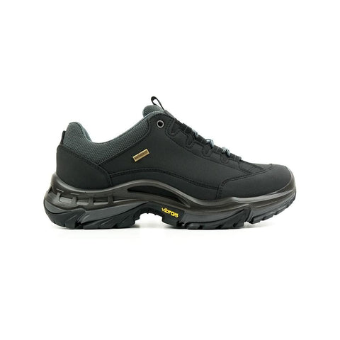 Womens Waterproof Hiking Shoes - Black - Shoes