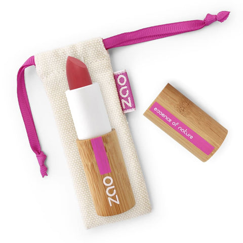 Zao Bamboo Soft Touch Lipstick - 435 Pomegranate Red - Lipstick