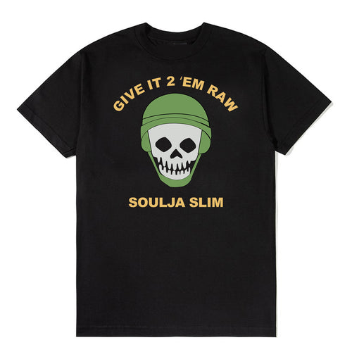 Rare 98' Give It 2 'Em Raw Soulja Slim T-Shirt *Limited Available*