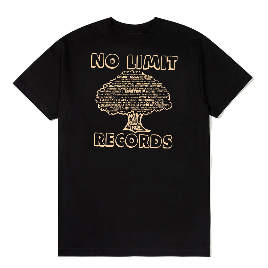 No Limit Family Tree Long Sleeve T-Shirt (Black)