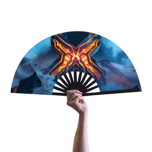 Apex Excision Hand Fan