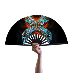Biomechanical Excision Hand Fan
