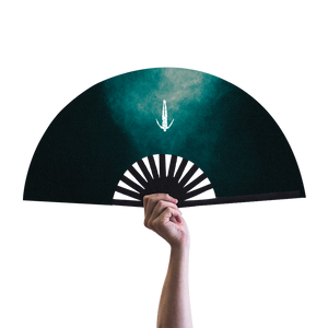 Distorted Afterlife Hand Fan