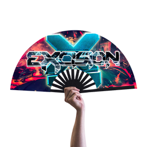 Distorted Excision Hand Fan