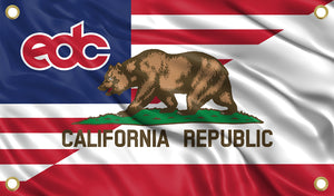 EDC - California - USA Flag