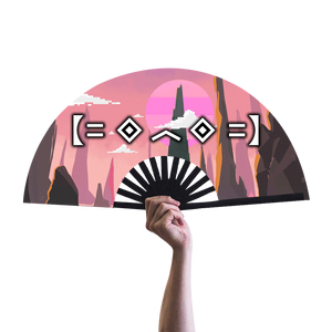 Porter Robinson World Two Hand Fan