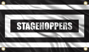 Stage Hoppers Boxed Flag