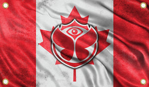 Tomorrowland Canada Flag