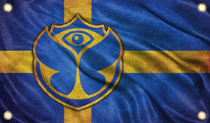 Tomorrowland Sweden Flag