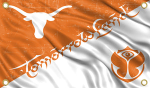 Tomorrowland Texas Longhorn Flag
