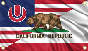 Ultra - California - USA Flag