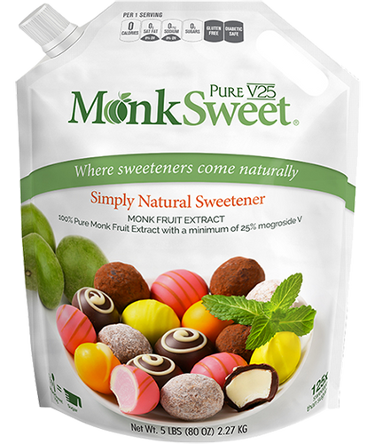 MonkSweet V25 | 100% Pure Monk Fruit Extract