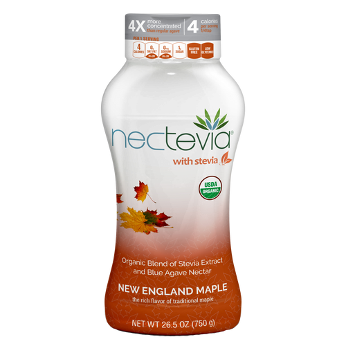 Nectevia New England Maple | Stevia Infused Agave Nectar