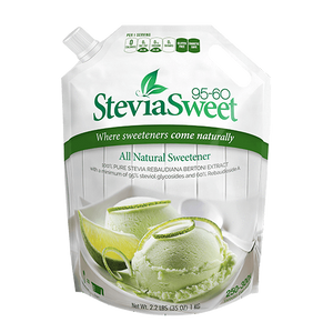 SteviaSweet 95-60 | Pure Stevia Extract Powder (60% Reb A)