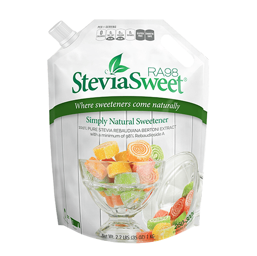 SteviaSweet RA98 | Pure Stevia Extract Powder (98% Reb A)